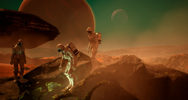 Team17 and Radiation Blue team up to publish Genesis Alpha One on PC and console