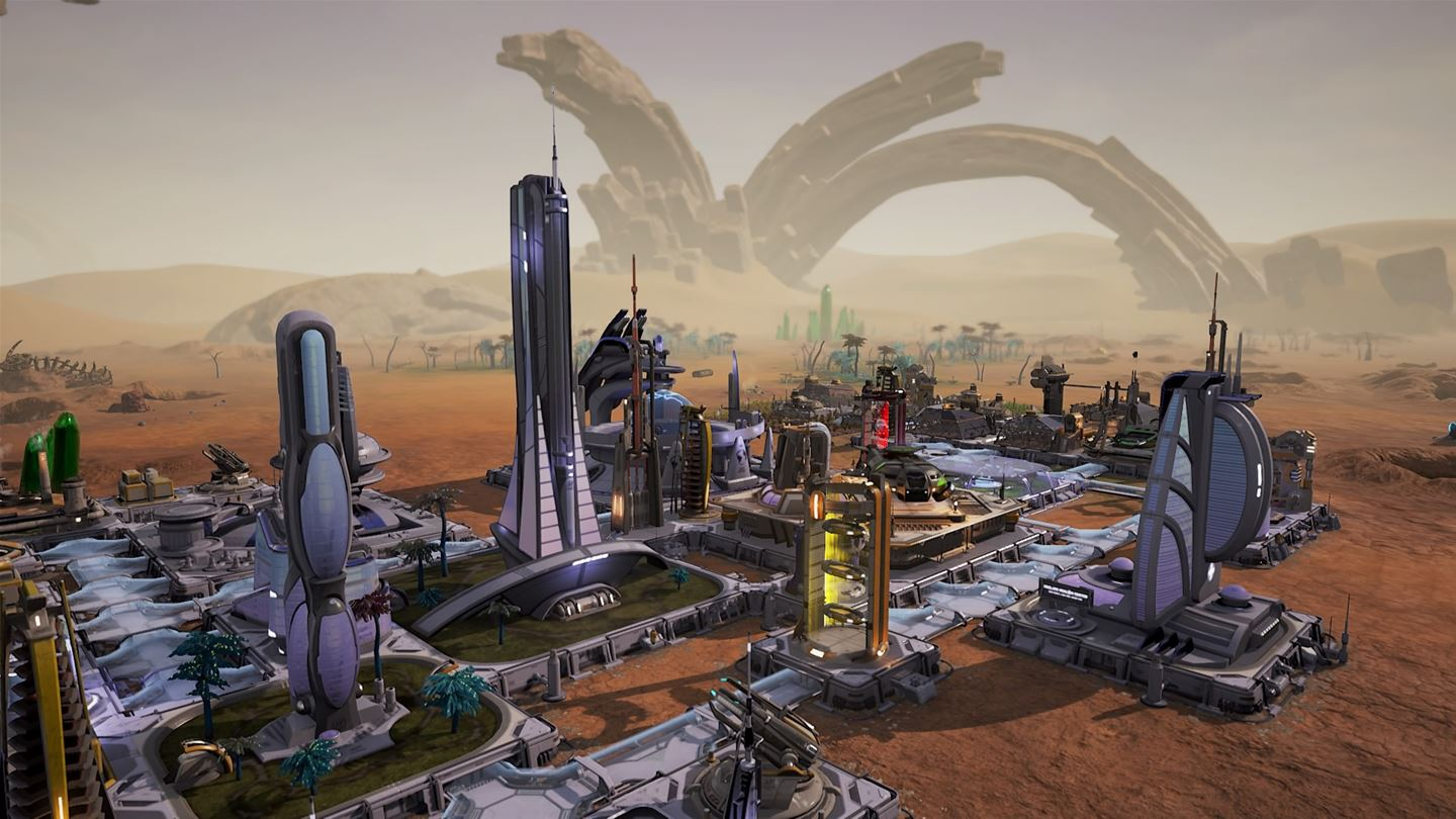 head off to aven colony on xbox one ps4 and pc to build a new home