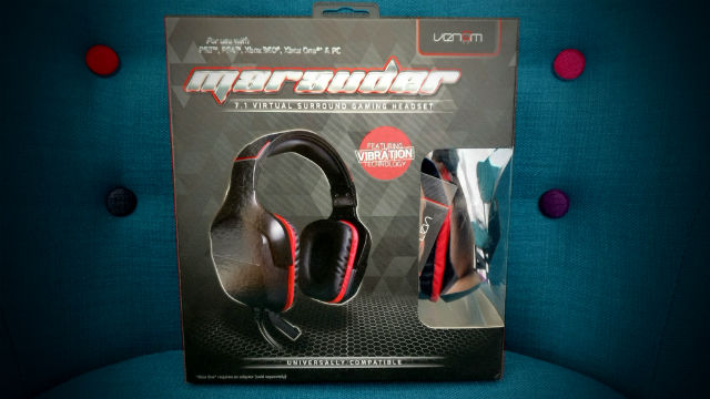 UNBOXING - Venom Marauder 7.1 Virtual Surround Headset for Xbox One, Xbox 360, PS3, PS4, PC