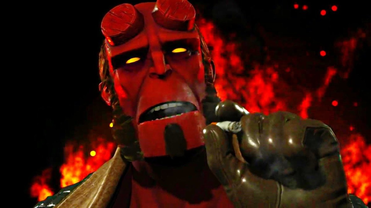 Face your demons in Injustice 2 as Hellboy is now available to purchase on Xbox One
