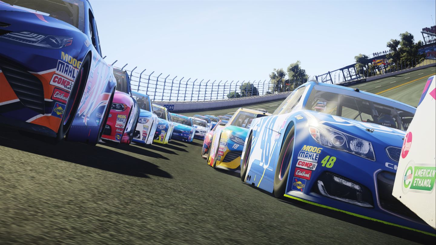 get back behind the wheel as nascar heat 2 rolls up to the starting