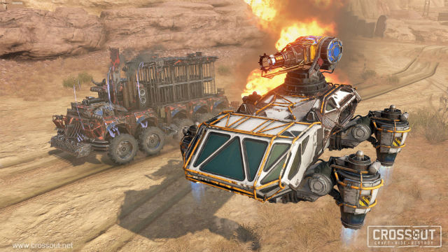 Thoughts and impressions on returning to the wastes of Crossout on