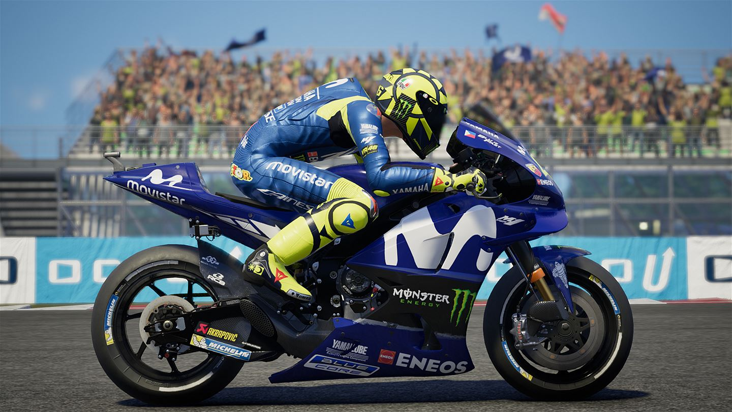 motogp 18 rolls up to the xbox one ps4 and pc grid. Black Bedroom Furniture Sets. Home Design Ideas