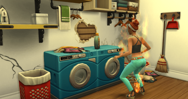 Well If Cleaning Your Own Clothes Fails To Bring Enough Excitement To Your Life Then Now You Can Replicate The Whole Process In The Sims