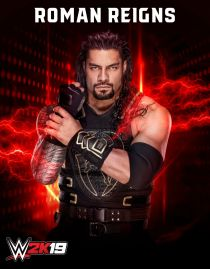 WWE2K19 Roster Roman Reigns