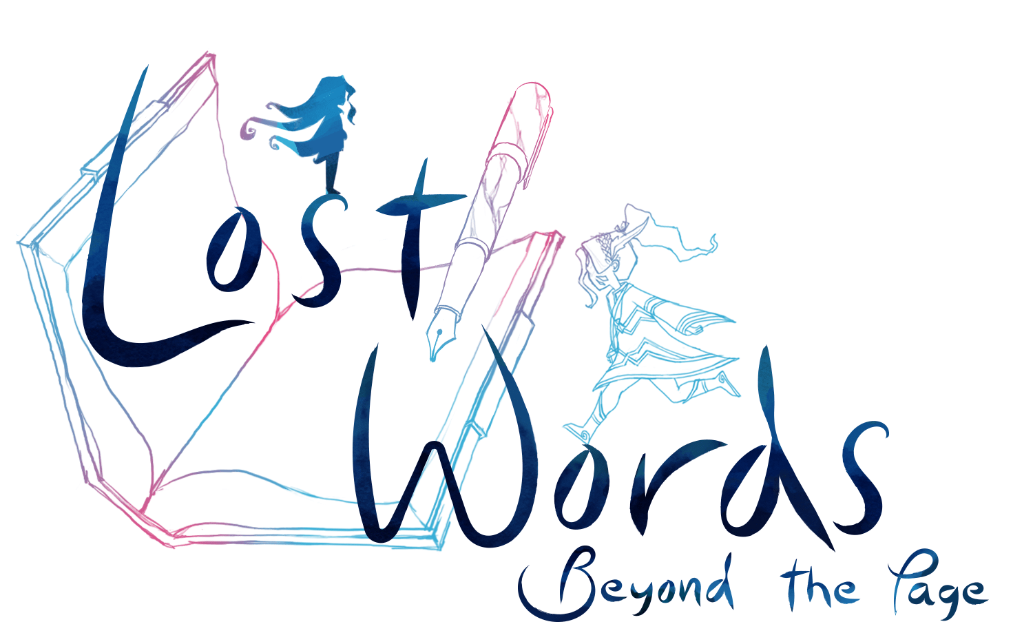 Bilderesultat for lost words beyond the page