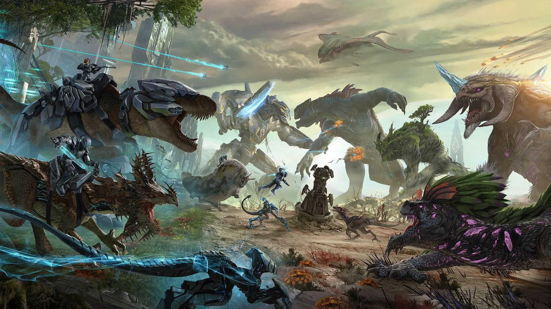 ARK: Extinction expansion arrives on Xbox One and PS4