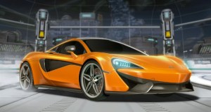 rocket league mclaren 570s