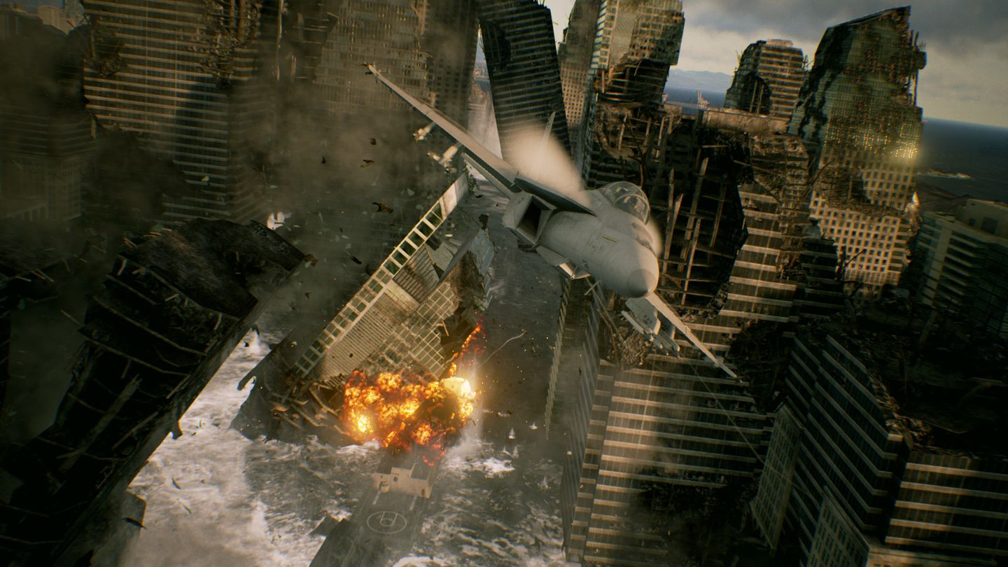 Soar through the clouds as Ace Combat 7: Skies Unknown