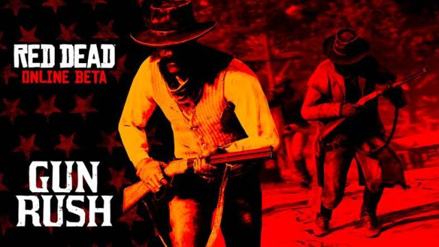 red dead online gun rush
