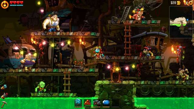 steamworld dig 2 review xbox one 2