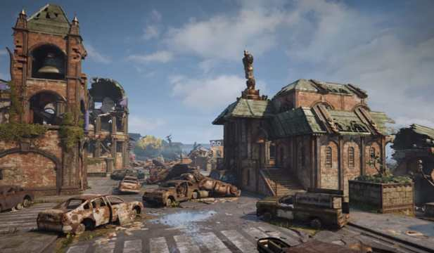 Gears of War Gridlock map