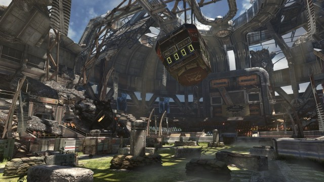 Gears of War Thrashball map