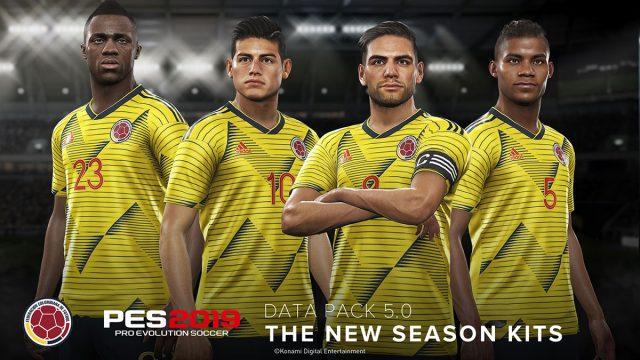 PES 2019 columbia new kit