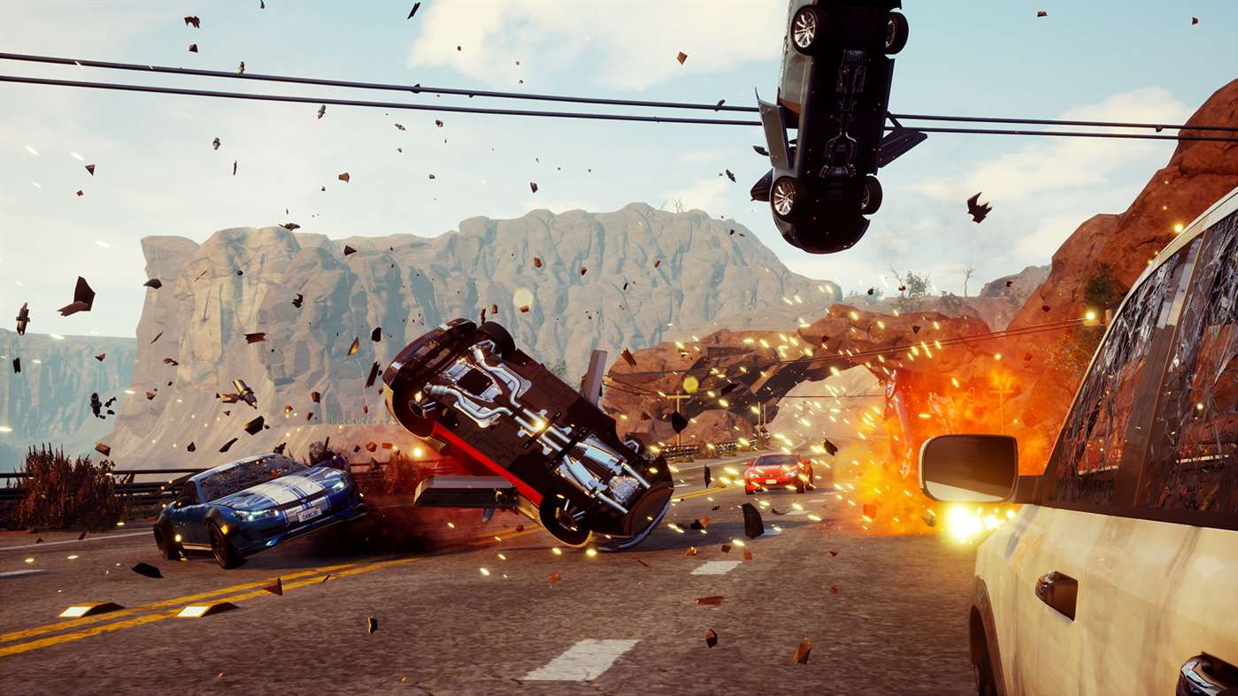 Drive dangerously with Dangerous Driving on Xbox One, PS4
