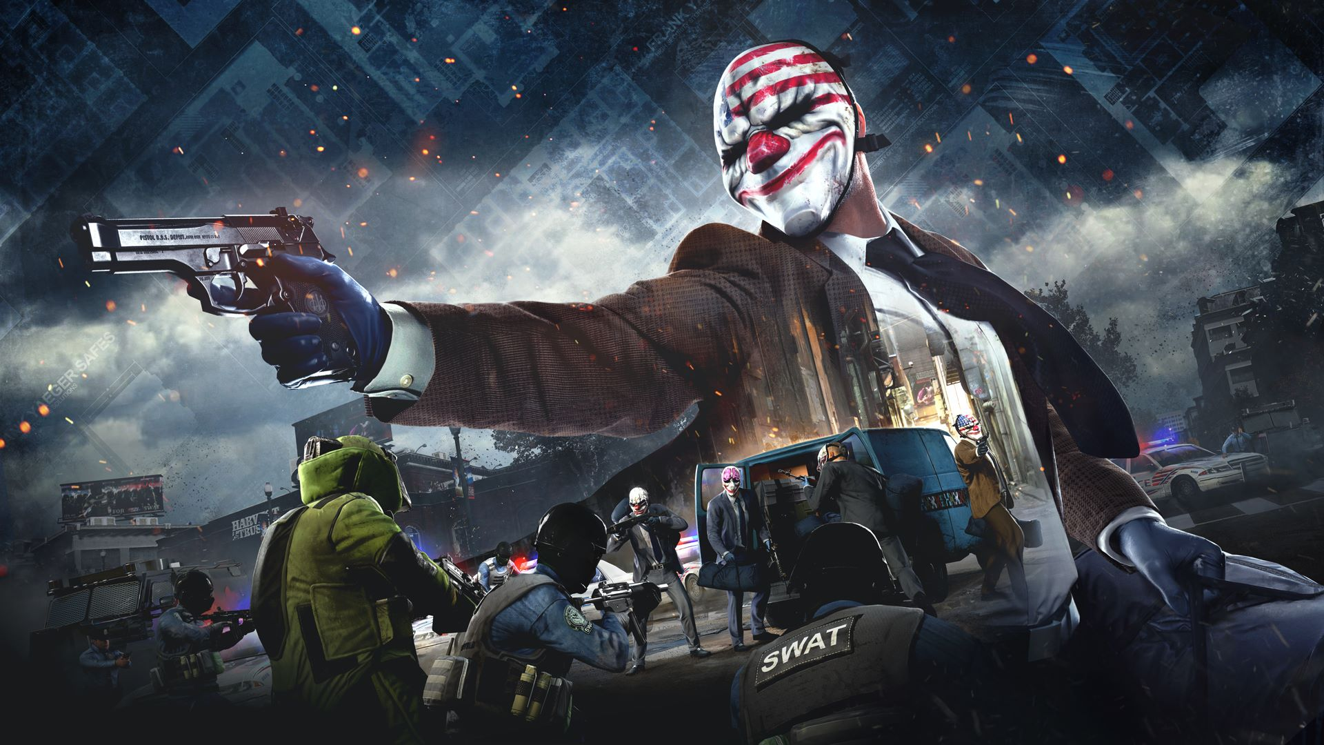 PAYDAY 2: The Crimewave Collection brings the ultimate heist