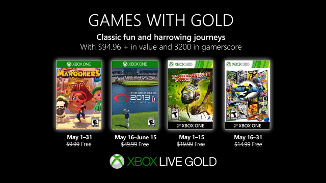 games with gold may 2019