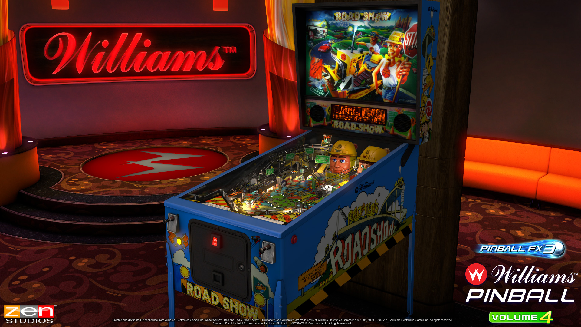 Buckle up for a wild ride with the Williams Pinball Vol  4 pack for