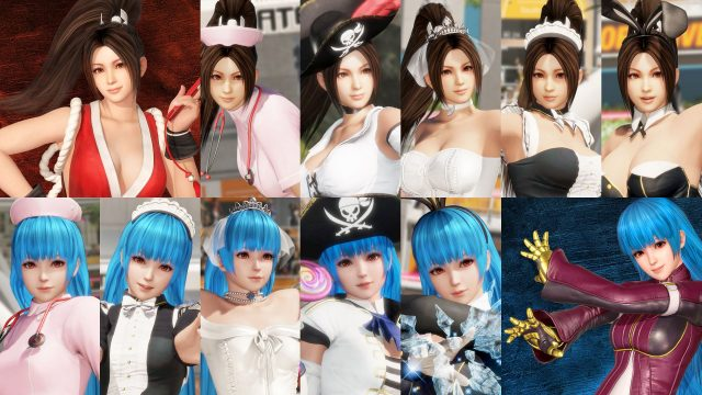 doa6 king of fighters dlc