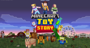 minecraft toy story mash up