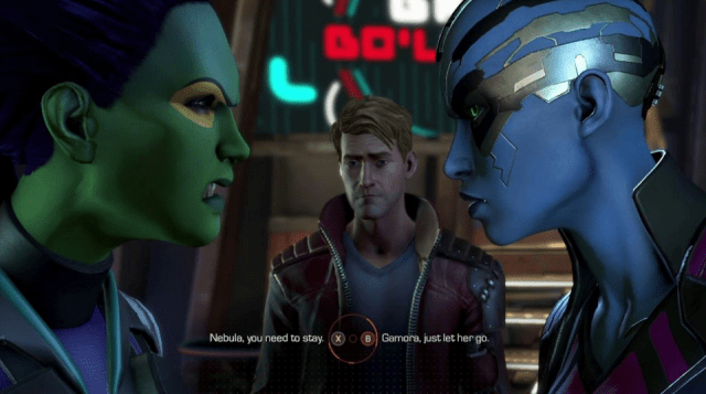 telltales guardians of the galaxy xbox