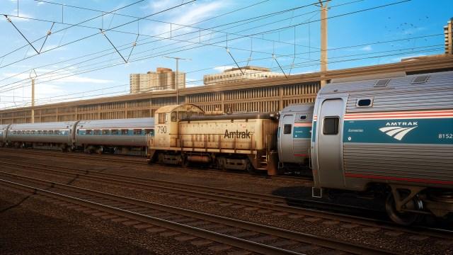 train sim world Amtrak SW1000R Loco