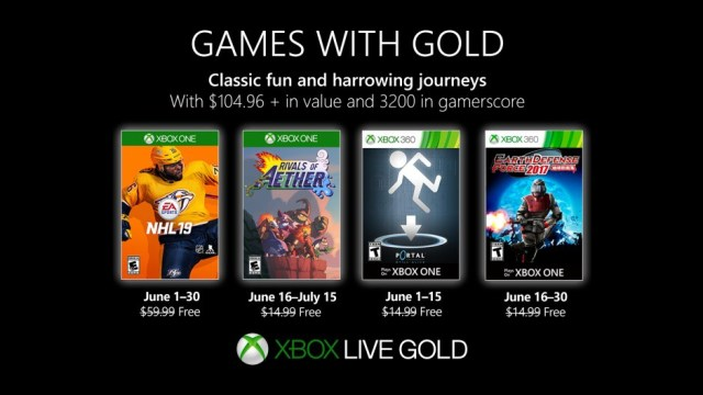 xbox games with gold june 2019