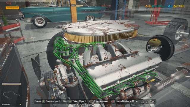 Car Mechanic Simulator Parts