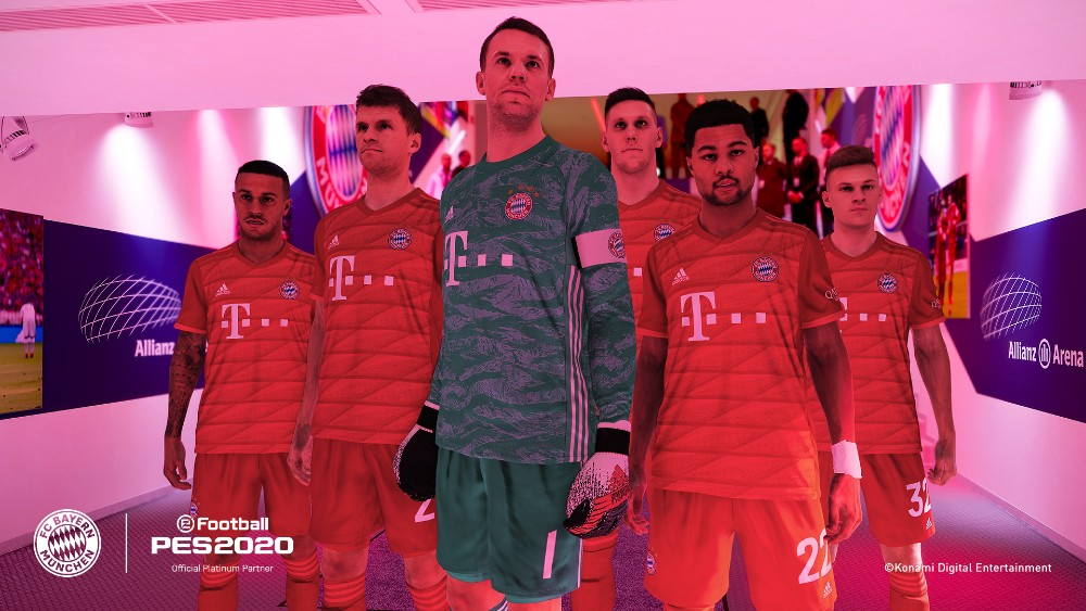 KONAMI partners up with FC Bayern for eFootball PES 2020