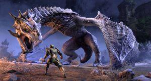 TESO Elsweyr Dragon