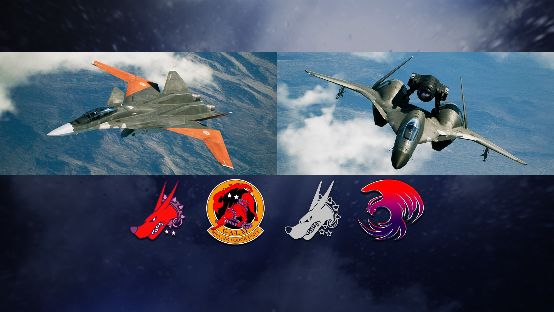 ACE COMBAT 7: SKIES UNKNOWN - ADFX-01 Morgan Set now