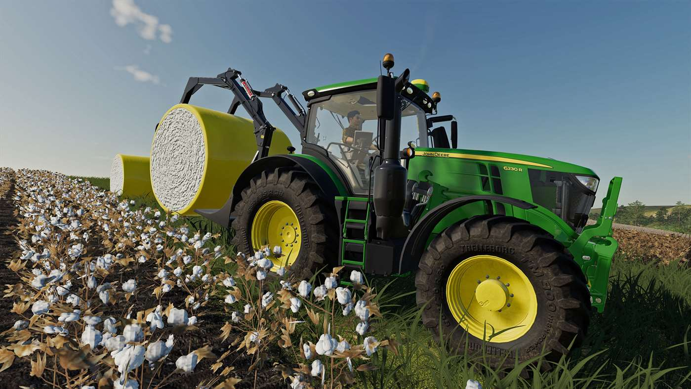 Farming Simulator 19 bolstered with the John Deere Cotton