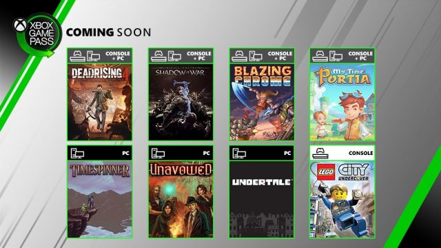 xbox game pas additions july 2019