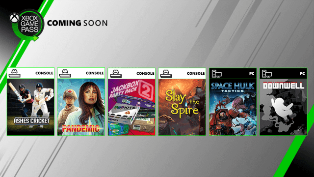 6 new games confirmed for Xbox Game Pass inclusion in August 2019