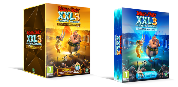 Asterix and ob xxl3 special editions