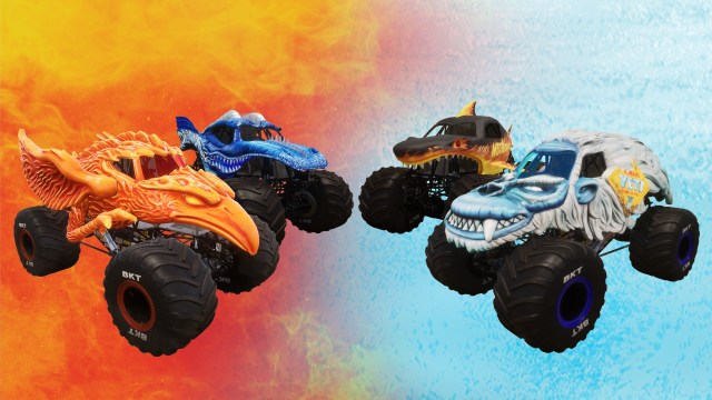 monster jam fire and ice dlc