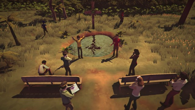 the church in the darkness review xbox one 2