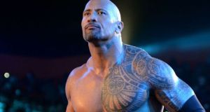 the rock wrestling