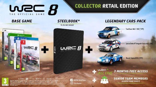 wrc 8 collectors edition