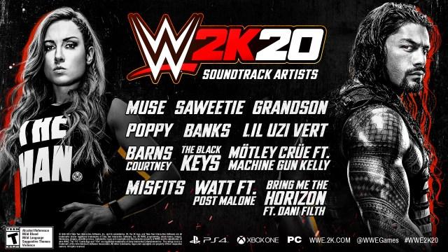 wwe 2k20 soundtrack