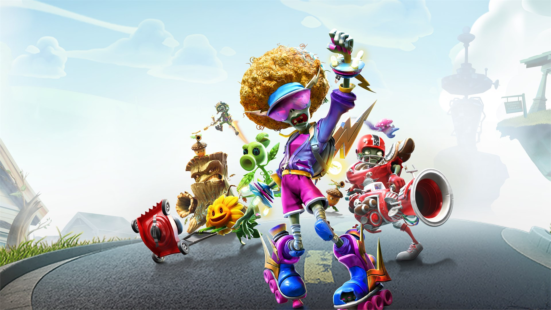 Plants vs Zombies: Battle for Neighborville sees a mad