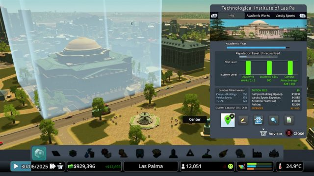 cities skylines campus review xbox one 3