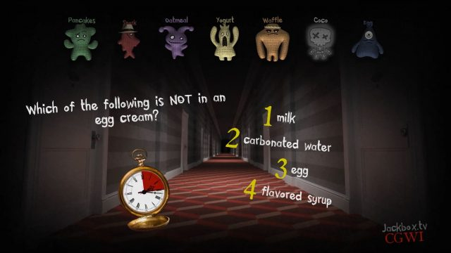 The Jackbox Party Pack 6 triva murder party 2