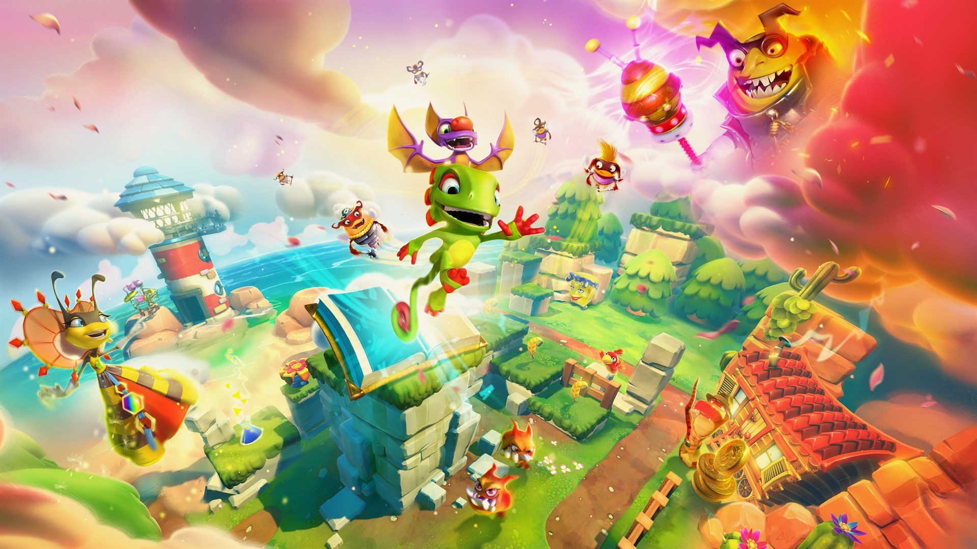 Yooka Laylee and the Impossible Lair [Switch Review]