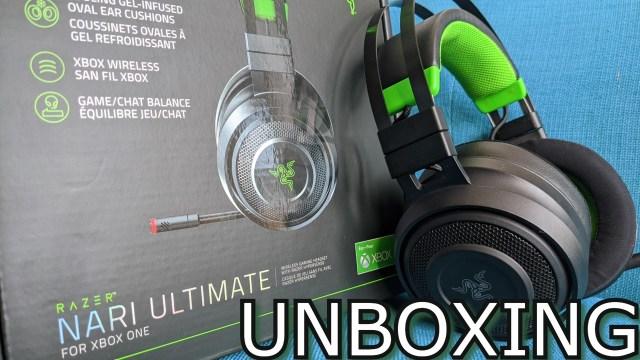 razer nari ultimate unboxing