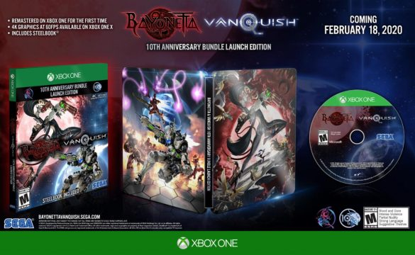 bayonetta and vanquish xbox one physical