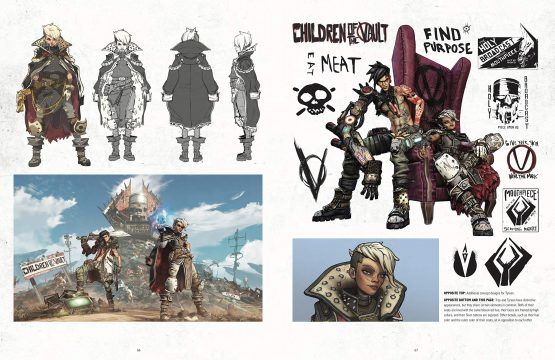 the art of borderlands 3 children of the vault