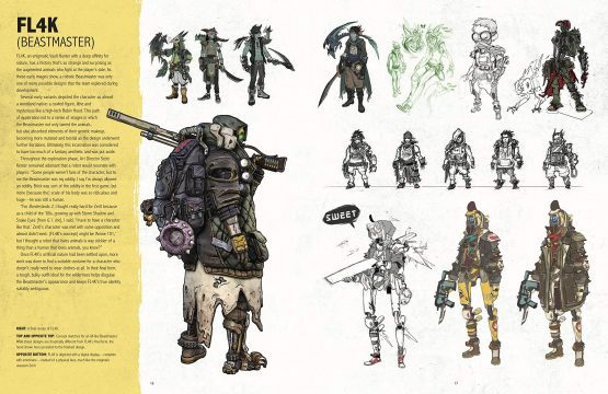 the art of borderlands 3 flak