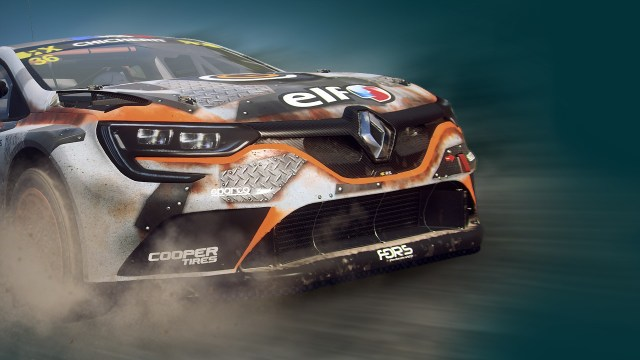 dirt rally renault megane