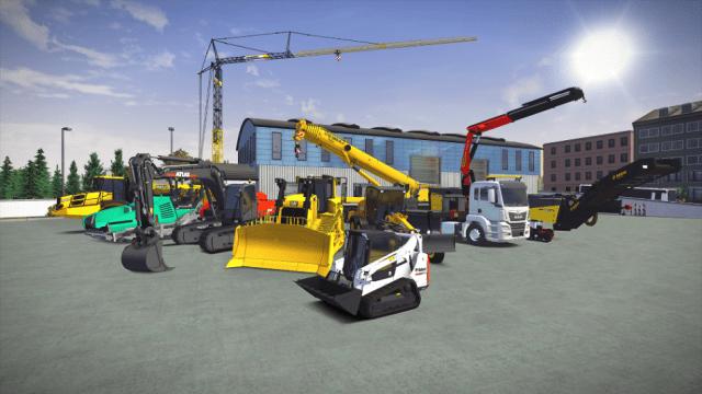 construction simulator 3 Vehicles